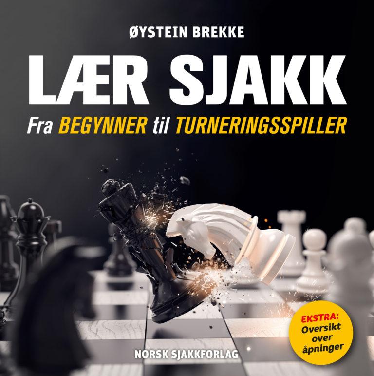 Boka LÆR SJAKK, utgitt høst 2018